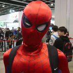 超絶リアルなスパイダーマンコスプレ C3AFA in 香港