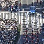 羽生くんパレード、どう見ても10万8千人どころじゃない件