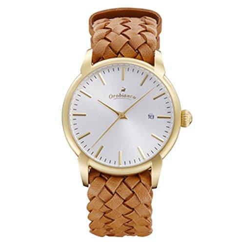 オロビアンコのレザーベルト腕時計チントゥリーノイントレチャート