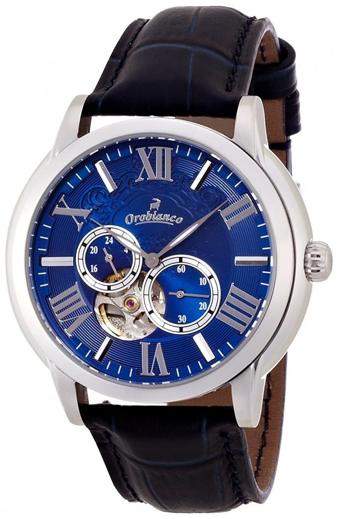 オロビアンコのレザーベルト腕時計ロマンティコ