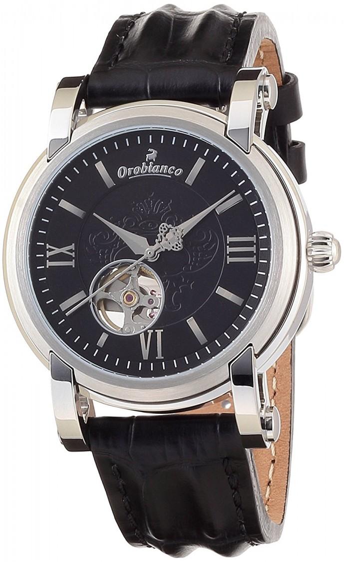オロビアンコのレザーベルト腕時計ノービレ