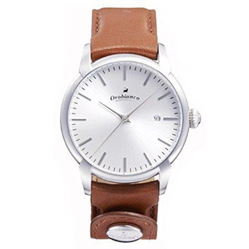 オロビアンコのレザーベルト腕時計チントゥリーノ