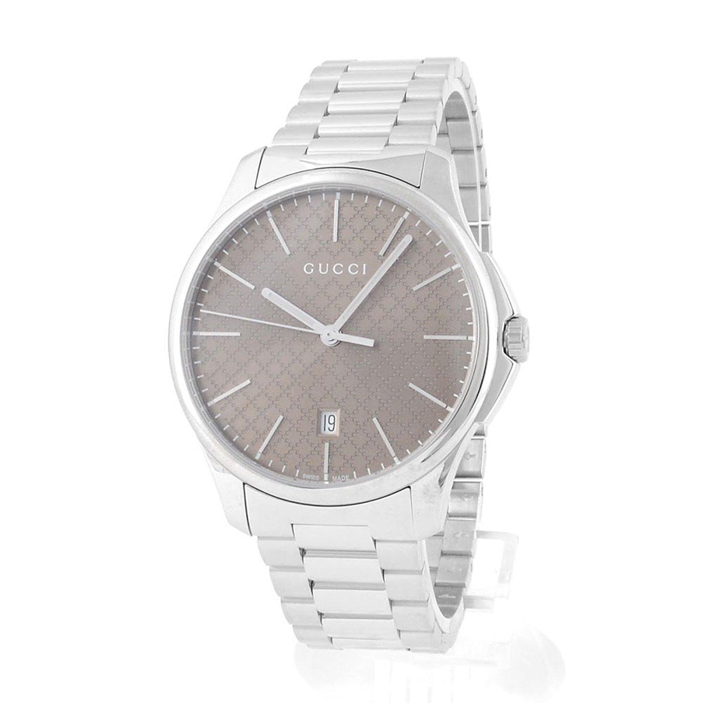 GUCCI 腕時計 G-タイムレスブラウン