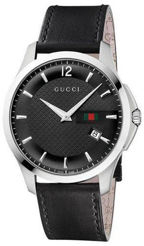 GUCCI 腕時計 G-タイムレスレザーバンド