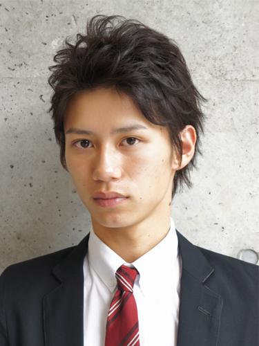 松田翔太 髪型 アップバング