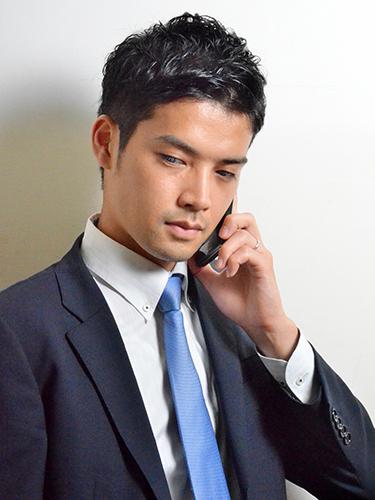 ビジネスマン 髪型