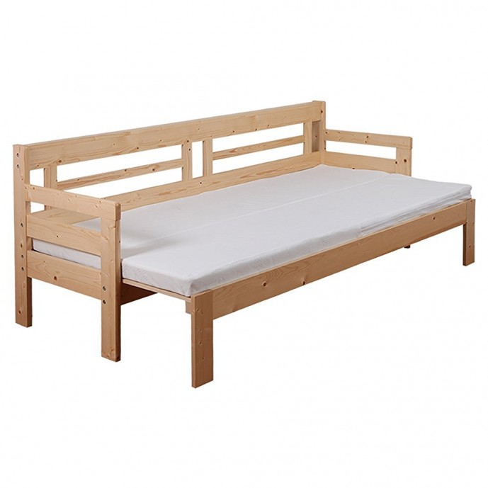JAJAN 天然木すのこソファベッド