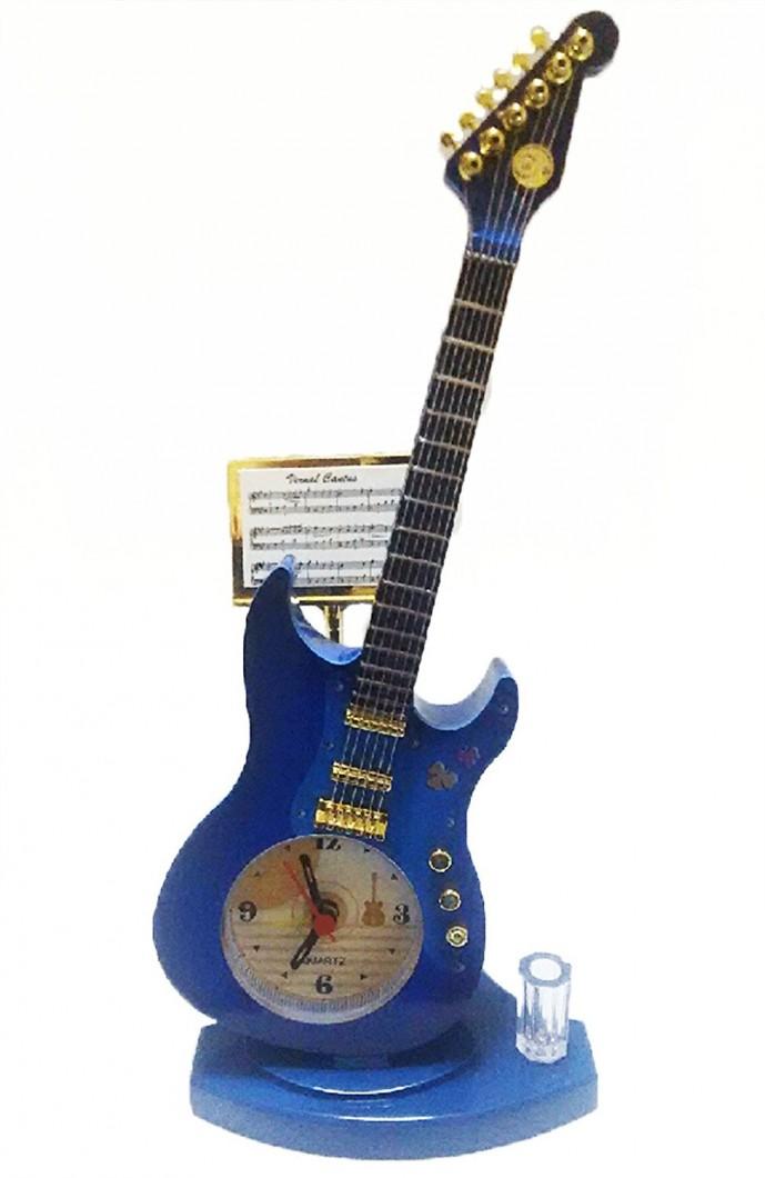 おしゃれギターの置き時計