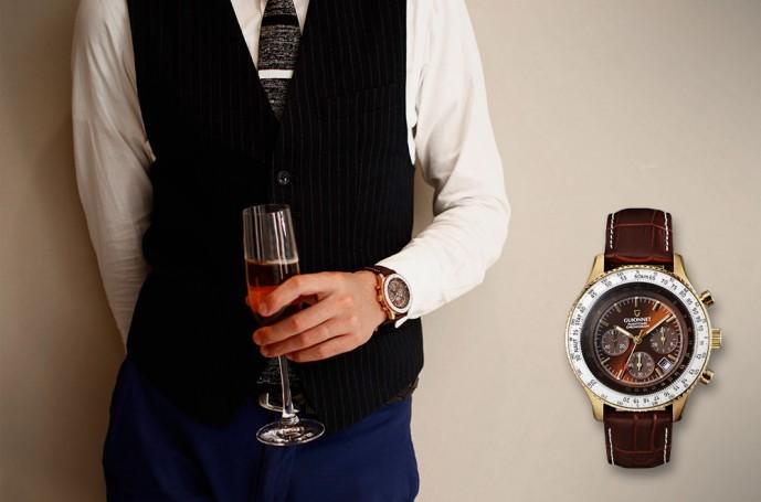 腕時計 レザー