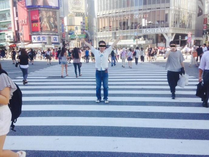渋谷 やってきた