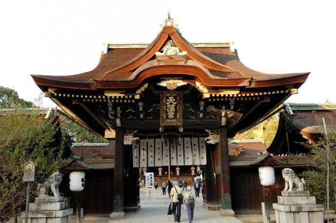 京都にある北野天満宮