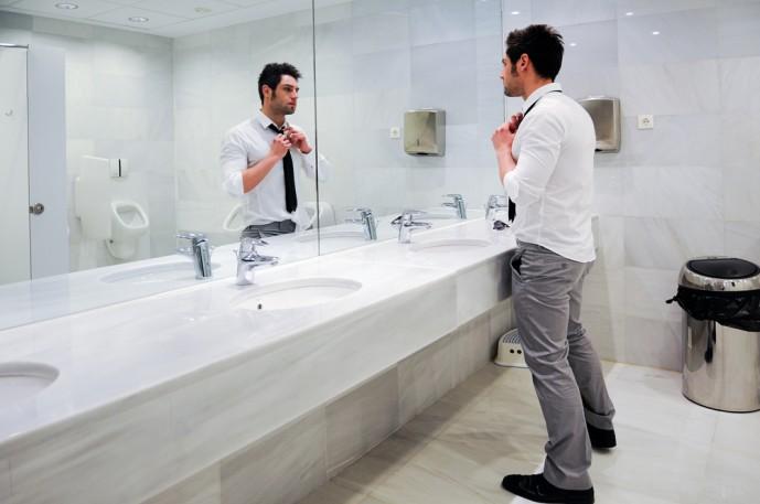 ケチな男 トイレ