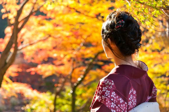 秋は京都で紅葉デート