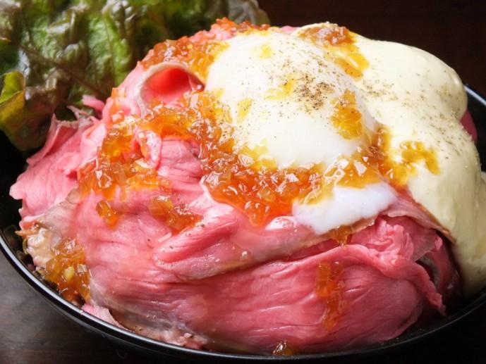 ゴウスタンド ローストビーフ丼