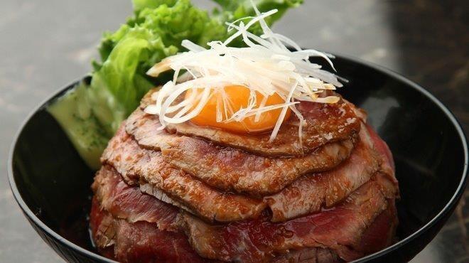 肉丼の店 ローストビーフ丼
