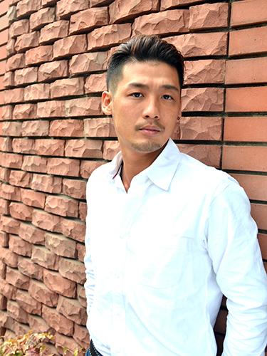 登坂広臣風の髪型