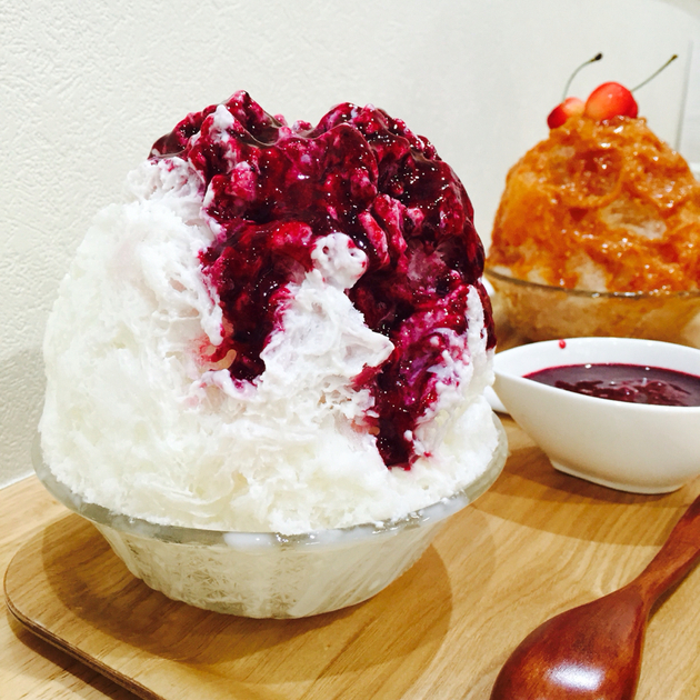 かき氷工房雪菓 レアチーズ
