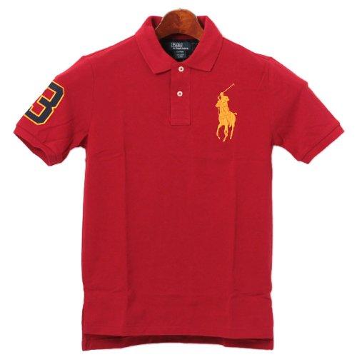 ポロシャツ ラルフローレン 赤