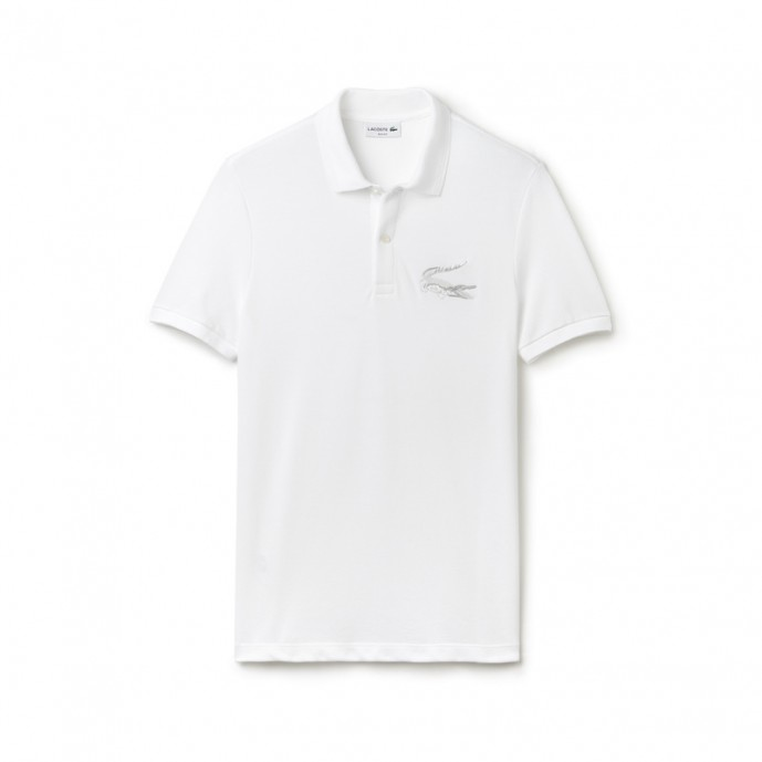 ポロシャツ 白 コーデ