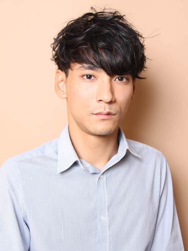 松田翔太風の髪型