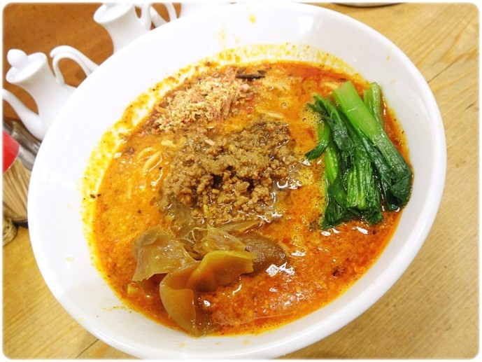 ほおずきの担々麺