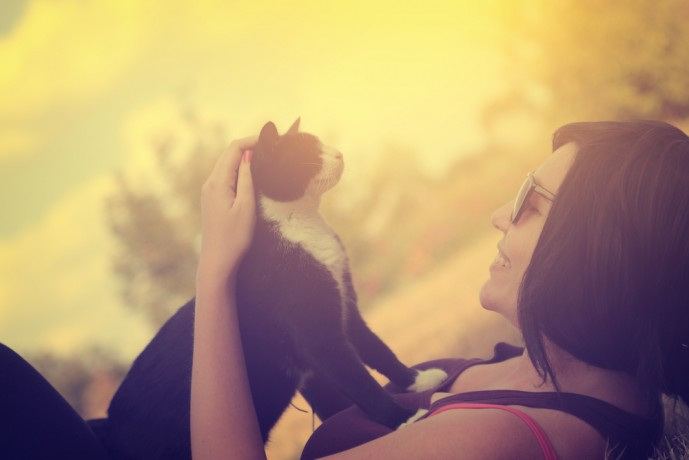猫系女子 彼女