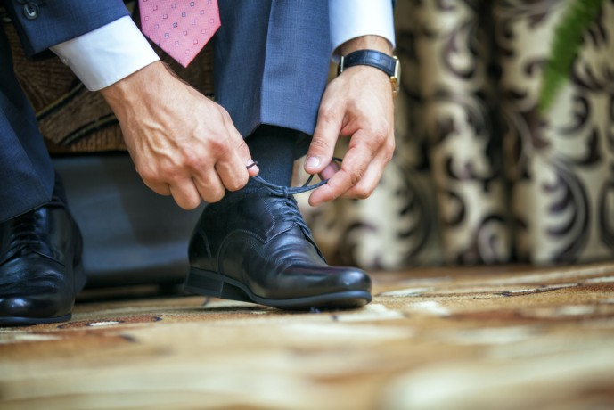 靴を磨くべき理由 自信
