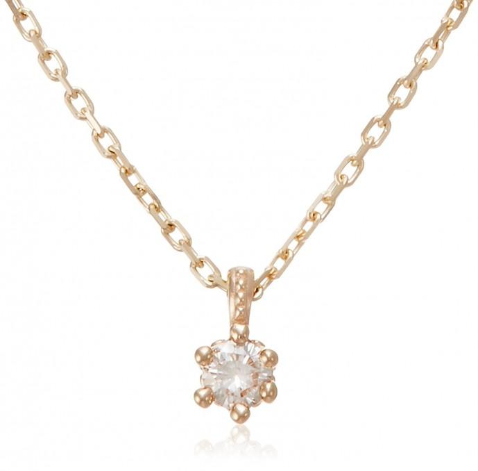 ブランド「ノジェス」のダイヤモンドネックレス