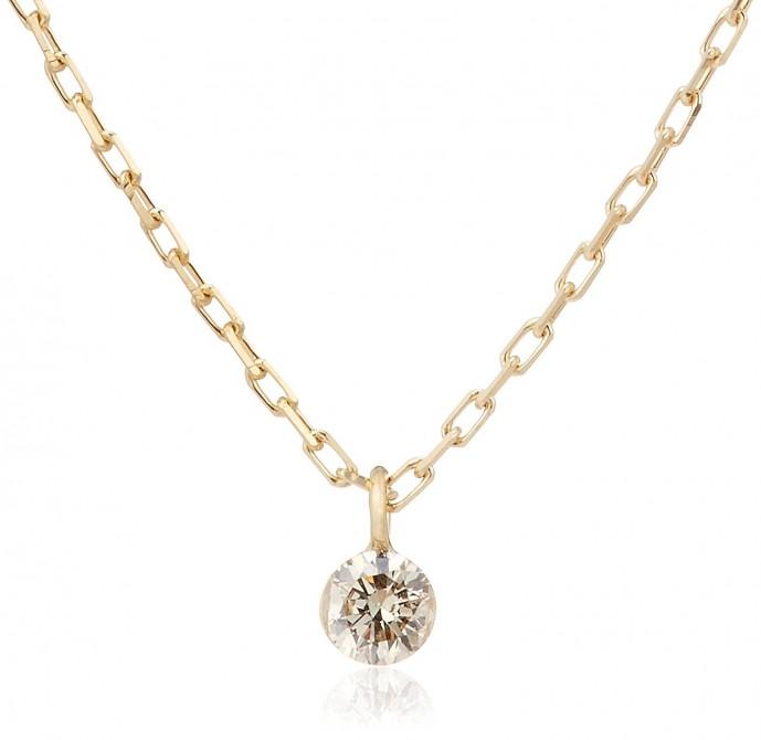 ブランド「agete」のダイヤモンドネックレス