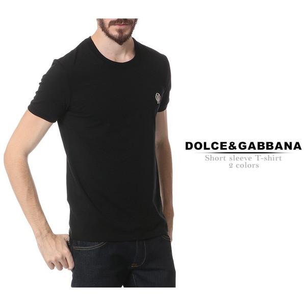 メンズ Tシャツ ドルチェ&ガッバーナ 無地