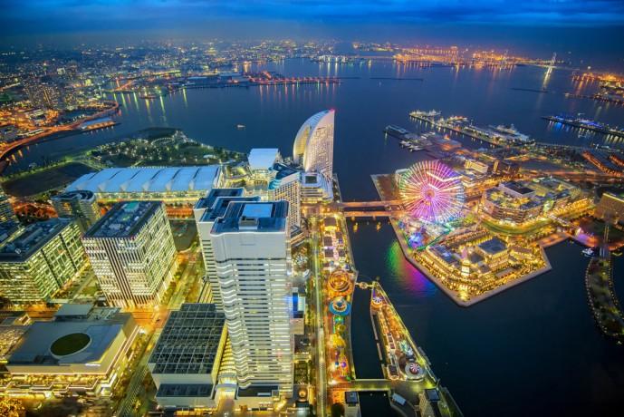 横浜ディナー 夜景