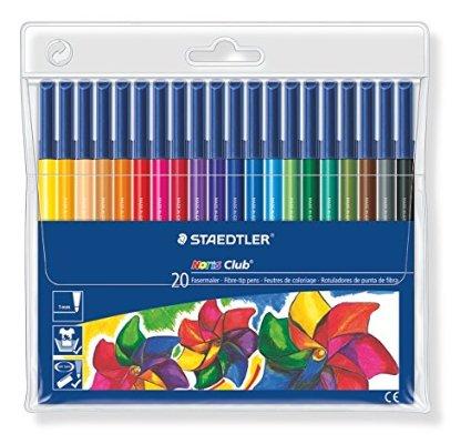 STAEDTLERのカラーペン