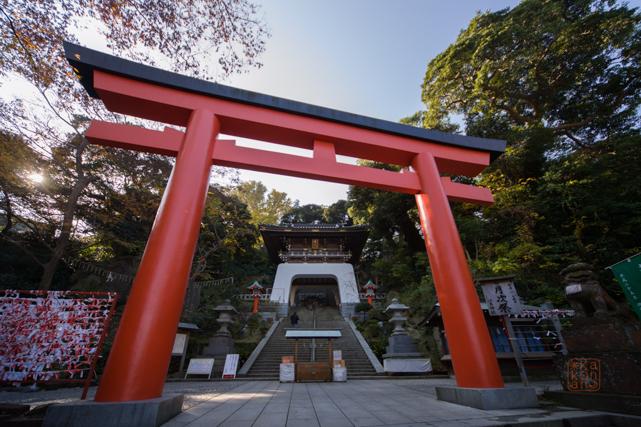 江ノ島デート 神社