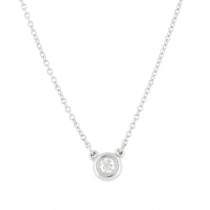 ティファニーのダイヤモンドネックレス