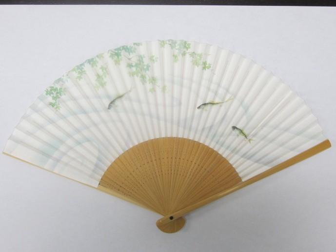 夏におすすめの京扇子
