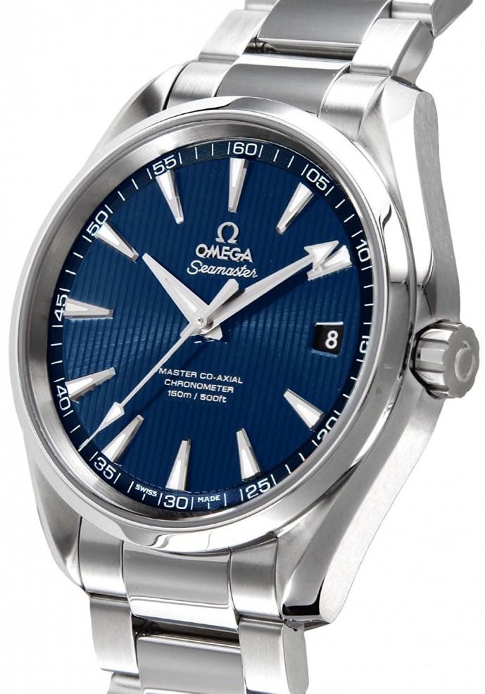 有名ブランドのオメガシーマスター・アクアテラの腕時計