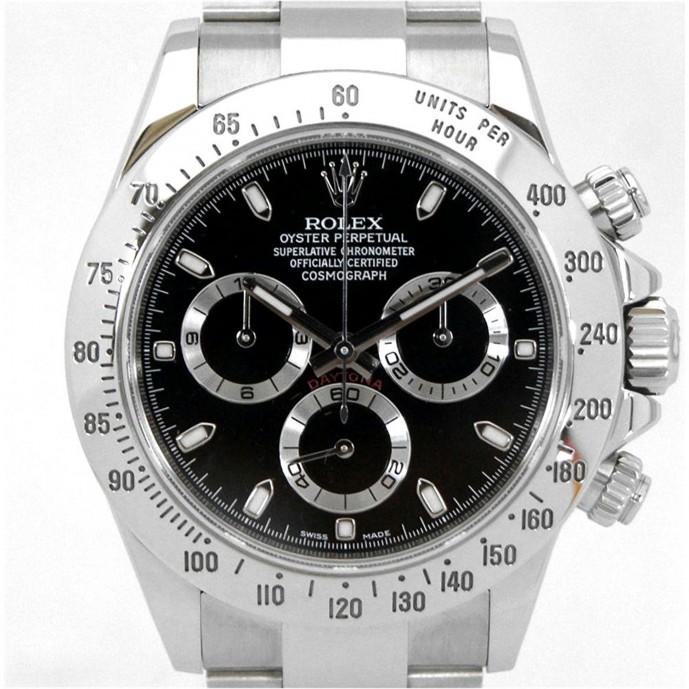 有名ブランドのロレックスデイトナの腕時計