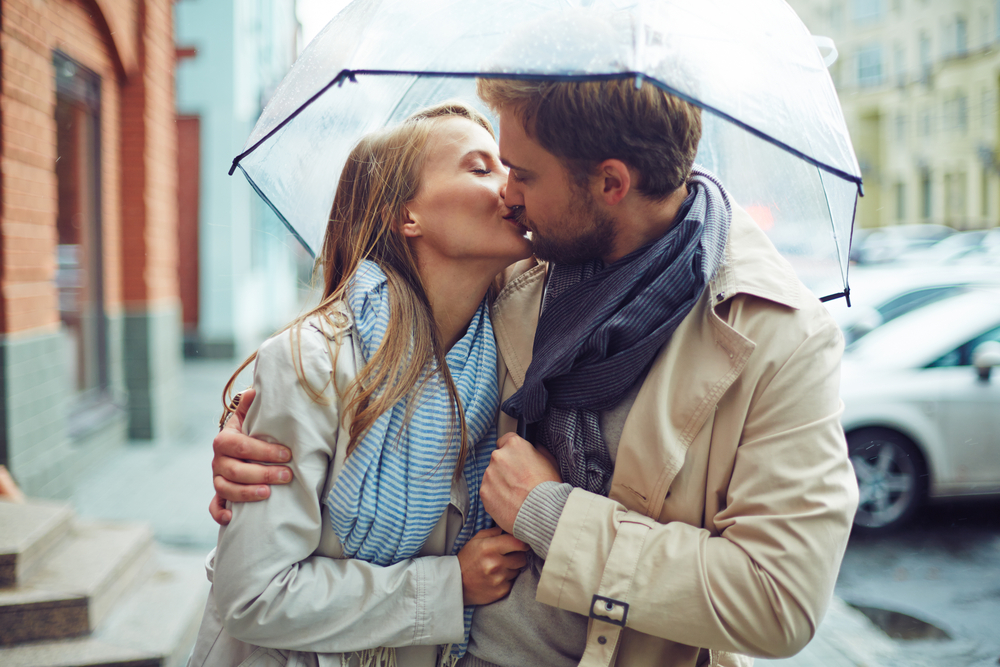 雨の日デート