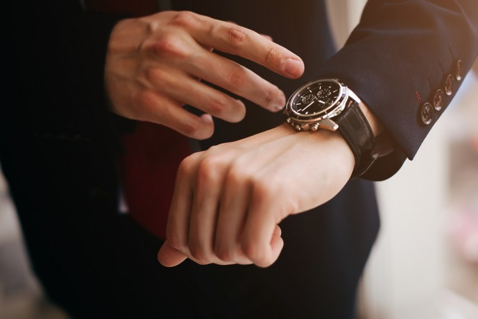 時刻が正確な電波時計