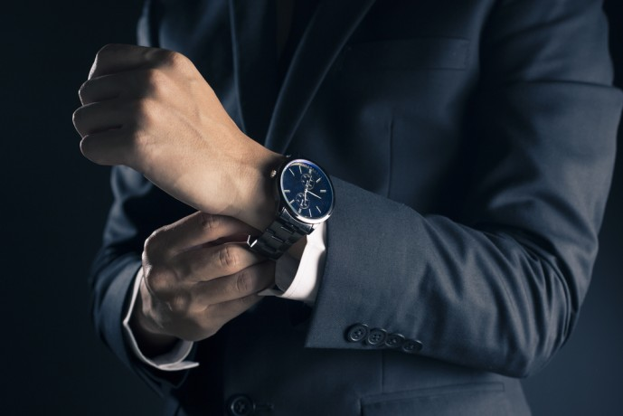 好感度の高いビジネスマンの腕時計