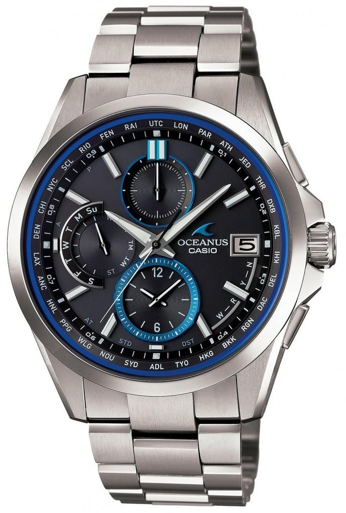 CASHIOのビジネスマン向け腕時計