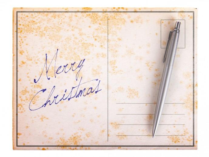 クリスマスにボールペンをプレゼント
