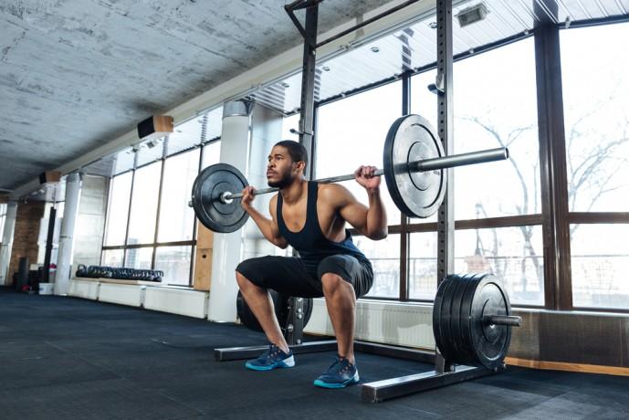 筋トレBIG3の筋肥大トレーニングの2つ目のトレーニングのスクワット
