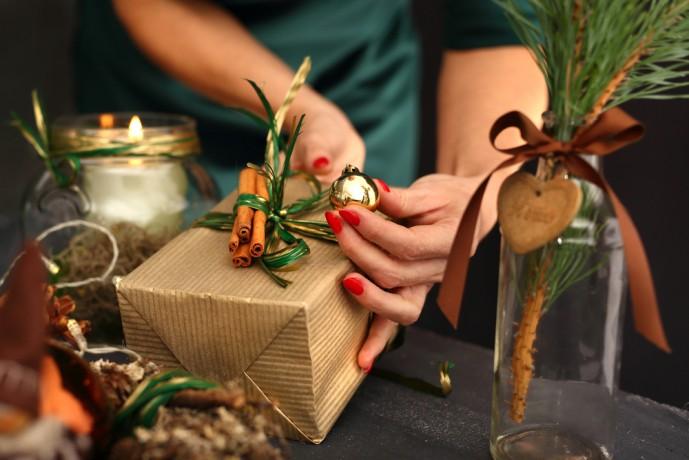 クリスマスにキーホルダーをプレゼント