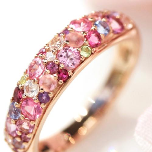 クリスマスプレゼントに贈るビズーの指輪