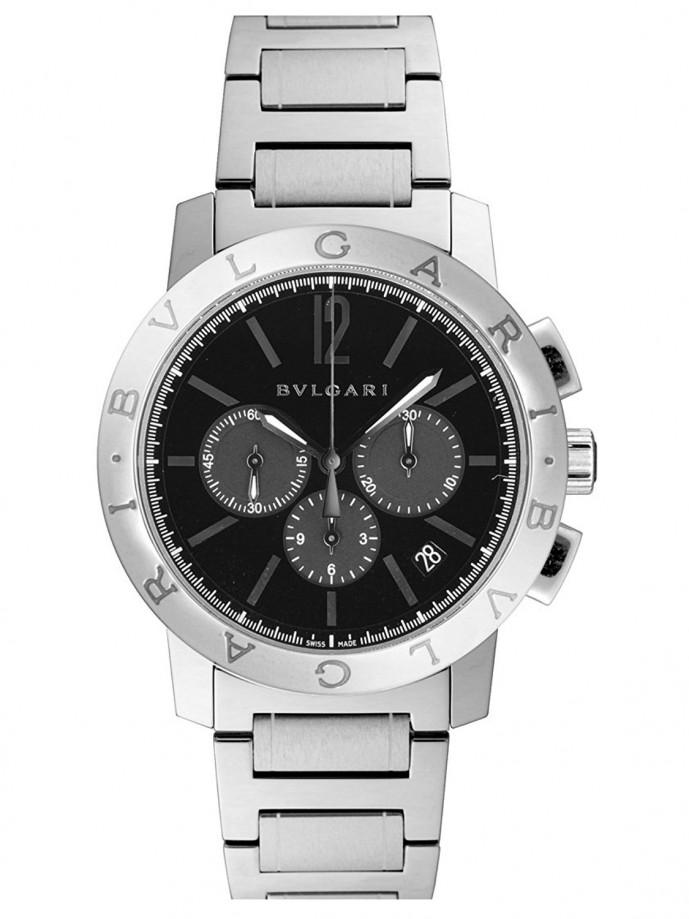 有名ブランドのブルガリ・ブルガリクロノグラフの腕時計