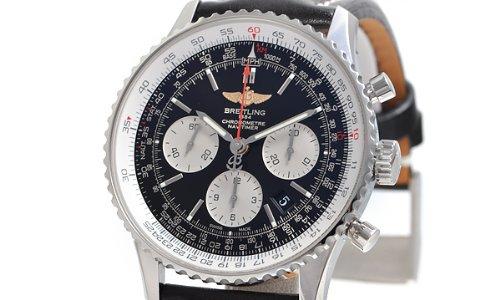 有名ブランドのブライトリングナビタイマー01の腕時計