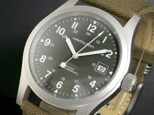 有名ブランドのハミルトン・カーキの腕時計