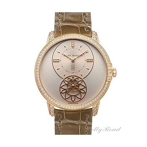 有名ブランドのハリーウィンストンダイヤモンドの腕時計
