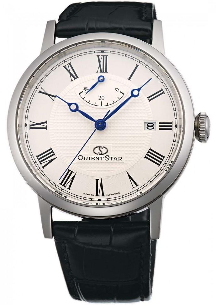 オリエントのクラシックな腕時計